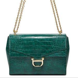 Nine West Emerald Green crossbody bag